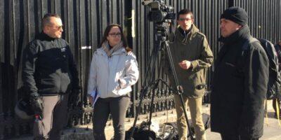 Pour la première fois en France, des journalistes ont été protégés par des agents de protection rapprochée durant des manifestations