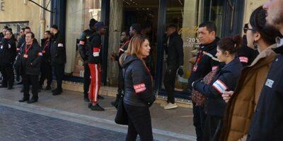 Grande première : une municipalité -en l'occurrence celle de Montpellier- a fait appel à une société de sécurité privée pour que des agents se positionnent dans la rue afin de protéger les magasins